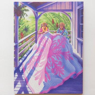 栗山義勝 [Yoshikatsu Kuriyama] Wood Art Print フラシリーズ hulastyle 05