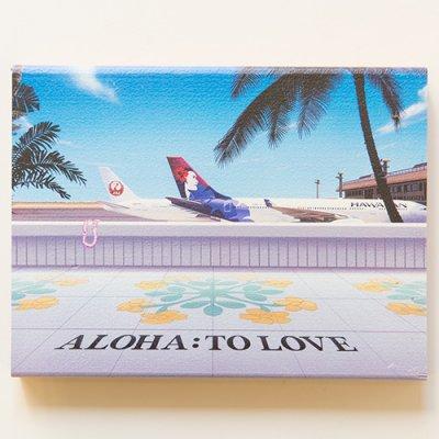栗山義勝 [Yoshikatsu Kuriyama] Wood Art Print ハワイの風景シリーズ- ホノルル空港046