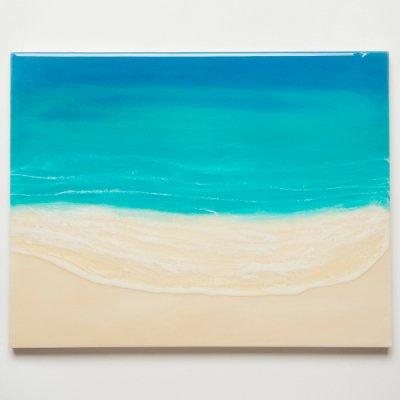 <img class='new_mark_img1' src='https://img.shop-pro.jp/img/new/icons2.gif' style='border:none;display:inline;margin:0px;padding:0px;width:auto;' />【Luana Ocean Art・ルアナオーシャンアート】  F6 アート #100・マケナグリーン