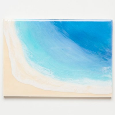 <img class='new_mark_img1' src='https://img.shop-pro.jp/img/new/icons2.gif' style='border:none;display:inline;margin:0px;padding:0px;width:auto;' />【Luana Ocean Art・ルアナオーシャンアート】  A4 アート #108・ホノルアブルー