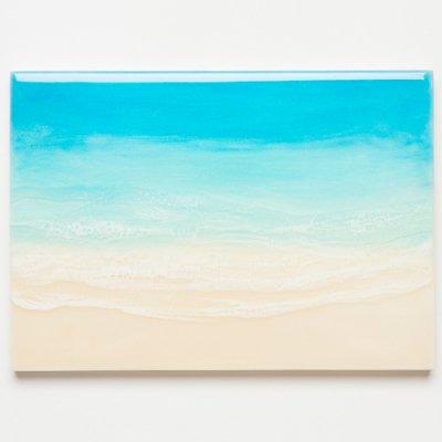 <img class='new_mark_img1' src='https://img.shop-pro.jp/img/new/icons2.gif' style='border:none;display:inline;margin:0px;padding:0px;width:auto;' />【Luana Ocean Art・ルアナオーシャンアート】  A4 アート #104・マケナグリーン