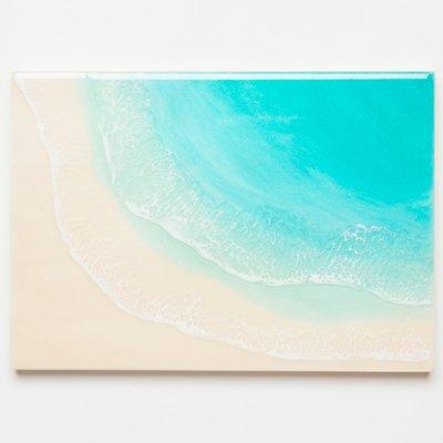 <img class='new_mark_img1' src='https://img.shop-pro.jp/img/new/icons1.gif' style='border:none;display:inline;margin:0px;padding:0px;width:auto;' />【Luana Ocean Art・ルアナオーシャンアート】  A4 アート #102・ラニカイグリーン