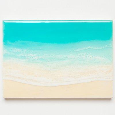 <img class='new_mark_img1' src='https://img.shop-pro.jp/img/new/icons2.gif' style='border:none;display:inline;margin:0px;padding:0px;width:auto;' />【Luana Ocean Art・ルアナオーシャンアート】  A5 アート #98・ラニカイグリーン