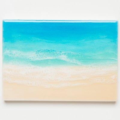 <img class='new_mark_img1' src='https://img.shop-pro.jp/img/new/icons2.gif' style='border:none;display:inline;margin:0px;padding:0px;width:auto;' />【Luana Ocean Art・ルアナオーシャンアート】  A5 アート #96・マケナグリーン