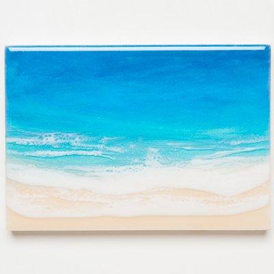 <img class='new_mark_img1' src='https://img.shop-pro.jp/img/new/icons2.gif' style='border:none;display:inline;margin:0px;padding:0px;width:auto;' />【Luana Ocean Art・ルアナオーシャンアート】  A5 アート #93・ホノルアブルー