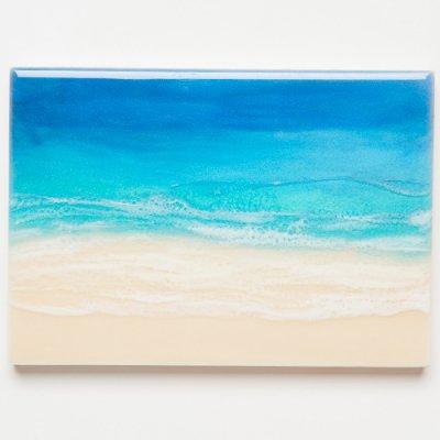 <img class='new_mark_img1' src='https://img.shop-pro.jp/img/new/icons2.gif' style='border:none;display:inline;margin:0px;padding:0px;width:auto;' />【Luana Ocean Art・ルアナオーシャンアート】  A5 アート #78・ホノルアブルー