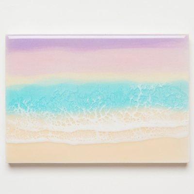 <img class='new_mark_img1' src='https://img.shop-pro.jp/img/new/icons2.gif' style='border:none;display:inline;margin:0px;padding:0px;width:auto;' />【Luana Ocean Art・ルアナオーシャンアート】  A5 アート #85・マウイ・ハナサンライズ