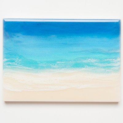 <img class='new_mark_img1' src='https://img.shop-pro.jp/img/new/icons2.gif' style='border:none;display:inline;margin:0px;padding:0px;width:auto;' />【Luana Ocean Art・ルアナオーシャンアート】  A5 アート #76・ホノルアブルー