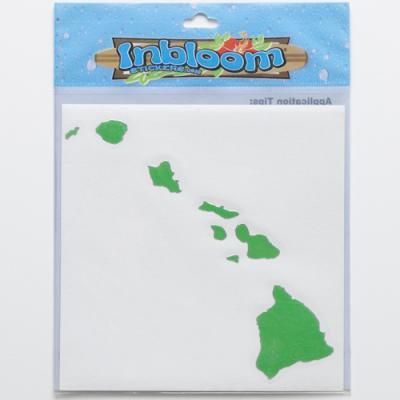 【INBLOOM】 ステッカーM  ハワイアイランド ★