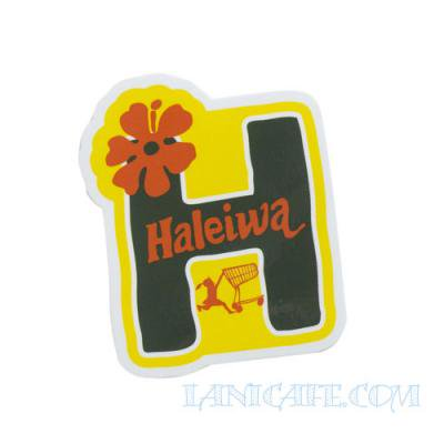 【Haleiwa Super Market】ステッカー・ハレイワH★<img class='new_mark_img2' src='https://img.shop-pro.jp/img/new/icons1.gif' style='border:none;display:inline;margin:0px;padding:0px;width:auto;' />