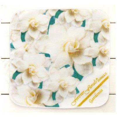 【Forever Florals】ハンドタオル/ガーデニア