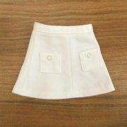 台形スカート 白 28cmサイズ