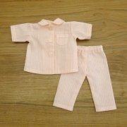 半袖 パジャマ ストライプ ピンク 28cmサイズ
