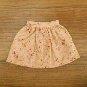 ギャザースカート ピンク 花柄 28cmサイズ