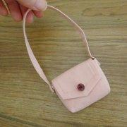 ショルダーバッグ ピンク 28cmサイズ