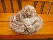 人形用 ベレー帽 モヘア マーブル 34cmサイズ