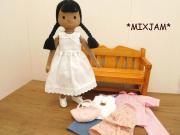 着せ替え人形 セット SS D BK-4 女の子 34cmサイズ