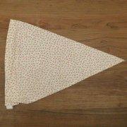 子供用 三角巾 ゴムタイプ 花柄 かわいい 小花