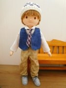 白いシャツ ネクタイ 男の子 セット LB5-3 34cmサイズ
