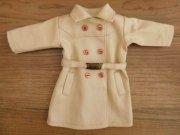 トレンチ風コート・ベージュ・女の子タイプ・28cmサイズ