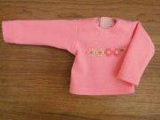 長袖Tシャツ ピンク 28cmサイズ