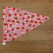 子供用 三角巾 ゴムタイプ いちご柄