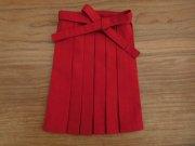 女の子用 袴 赤 28cmサイズ