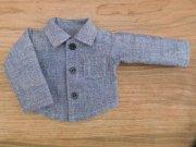 ダンガリーシャツ ブルー 男の子タイプ 34cmサイズ