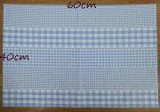 ランチクロス 40 60 3種のギンガムチェック 給食用ナフキン<img class='new_mark_img2' src='https://img.shop-pro.jp/img/new/icons49.gif' style='border:none;display:inline;margin:0px;padding:0px;width:auto;' />