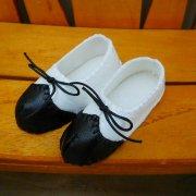 人形用靴 ウィングチップ風 34cmサイズ