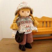 着せ替え人形 ニットケープ フレアパンツ 女の子 セット LB7-3 28cmサイズ