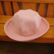 人形用 帽子 ピンク 34cmサイズ
