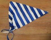 子供用 三角巾 リボンタイプ 太ボーダー ボーダー