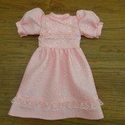 パフスリーブ ドレス ピンク 34cmサイズ