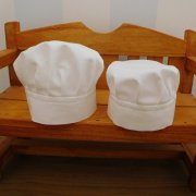 人形用 コック帽 34cmサイズ