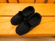 ストラップの靴 黒 28cmサイズ