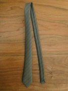 人形用 ネクタイ ダークグリーン ストライプ 34cmサイズ