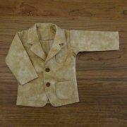 ジャケット ベージュ 男の子タイプ 34cmサイズ