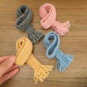人形用 マフラー かのこ編み 28cmサイズ
