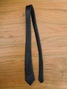 人形用 ネクタイ 黒 34cmサイズ