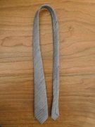 人形用 ネクタイ グレー 34cmサイズ
