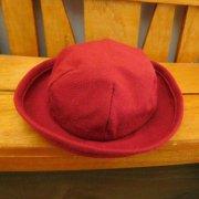 人形用 帽子 赤  赤い帽子 34cmサイズ