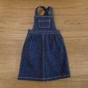 サロペットスカート デニム 34cmサイズ