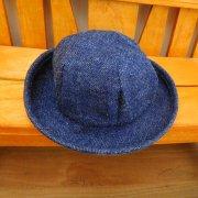 デニム 帽子 28cmサイズ