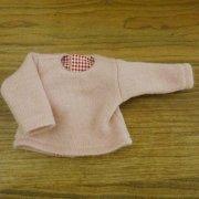 長袖 カットソー ピンク 28cmサイズ