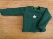 長袖Tシャツ・緑・星・34cmサイズ