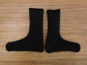 人形用 靴下 黒 28cmサイズ