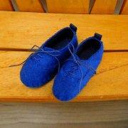 スニーカー タイプ 靴 ブルー 34cmサイズ