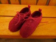 スニーカータイプ 靴 赤 34cmサイズ