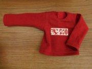 Tシャツ風カットソー・長袖・赤ずきんちゃん・34cmサイズ